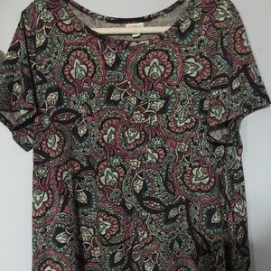 Beautiful Print Carly Dress No pocket 2X